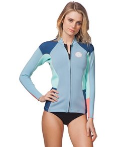 Rip Curl Women's 1.5mm Dawn Patrol Front Zip Wetsuit Jacket
