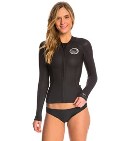 Rip Curl Women's 1.5mm Dawn Patrol Front Zip Wetsuit Jacket