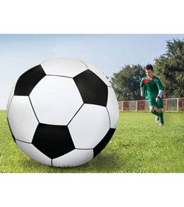 Big Mouth Toys 6' Gigantic Inflatable Soccer Ball