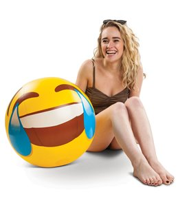 Big Mouth Toys Giant Tears of Joy Emoji Beach Ball