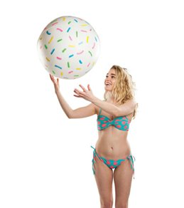 Big Mouth Toys Giant Donut Hole Beach Ball