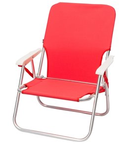 Wet Products Red Sling Strap Beach Chair