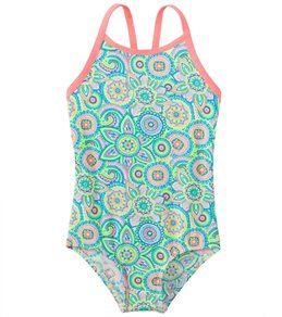Funkita Toddler Girls' Petal Party One Piece Swimsuit