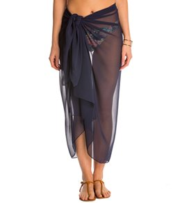 Pia Rossini San Remo Chiffon Cover Up Sarong
