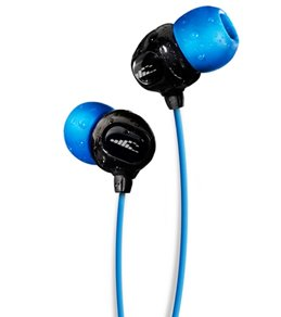 H2O Audio Surge S+ Waterproof Sport Headphones, Short Cord