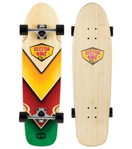 Sector 9 Bamboo Bamboozler Complete Longboard Skateboard