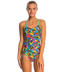 TYR Enso Cutoutfit One Piece Swimsuit