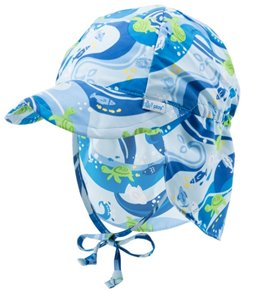 iPlay Boys' Tropical Flap Sun Hat (0mos-4T)