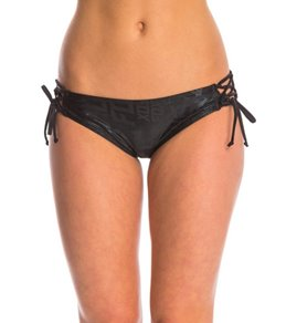 FOX Swimwear Splash Lace Up Bikini Bottom