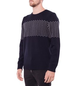 Rhythm Men's Suffolk Knit Crew Neck Sweater