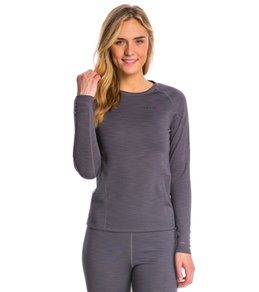 Level Six Women's Hot Fuzz Long Sleeve Fleece Paddle Top