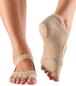 Toesox Prima Bellarina Half-Toe Grip Socks