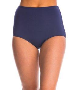 Beach House Solid Smooth Fit High Waist Bikini Bottom