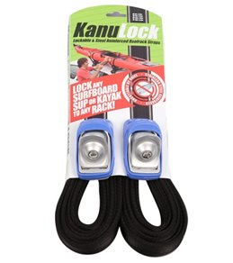 Kanulock Stainless Steel Reinforced Tie Down Straps - 18Ft