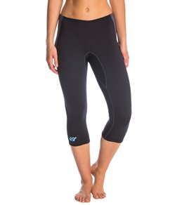Stohlquist Women's 1MM Rapid Zip Free Neoprene Wetsuit Capri Pant
