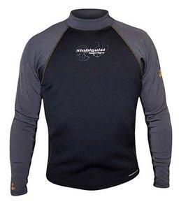 Stohlquist Men's 1MM Coreheater Zip Free Long Sleeve Neoprene Wetsuit Jacket