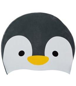 Sporti Penguin Silicone Swim Cap Jr.