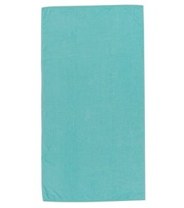 Kaufman Sales Velour 32 x 62 Velour Solid Color Beach Towel