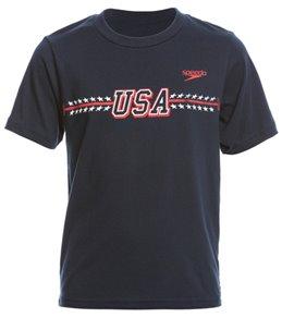 Speedo Youth Unisex Adrian Jersey Tee Shirt