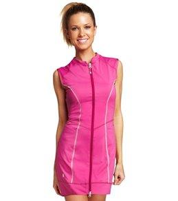 SUPmerge Women's Zipper Pocket Swim Dress