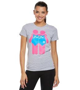 USA Swimming Women's Pool Pal Crew Neck T-Shirt