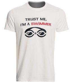 USA Swimming Men's Trust Me Crew Neck T-Shirt