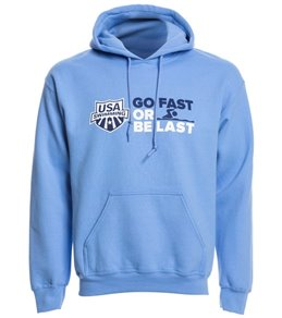 USA Swimming Unisex Go Fast or Be Last Pullover Hoodie