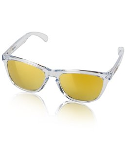 Oakley Frogskin Crystal Clear Sunglasses