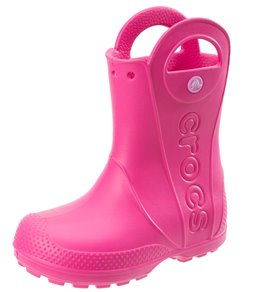 47c43d62a42 Crocs Kids  Handle It Rain Boot (Toddler Little Kid Big ...