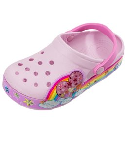 Crocs Girls' Rainbow Heart Clog (Toddler/Little Kid/Big Kid)