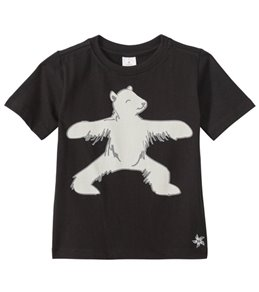 Satva Organic Warrior Bear Kids Toddler Yoga Tee