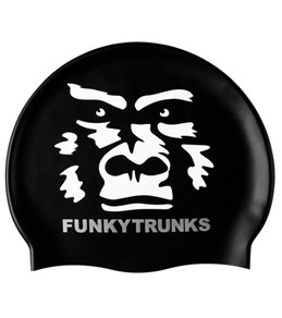 Funky Trunks The Beast Silicone Swim Cap
