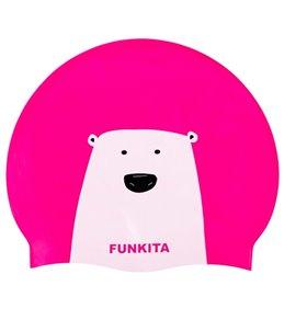 Funkita Stare Bear Silicone Swim Cap