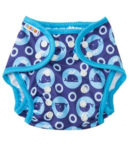 Bummis Swimmi Whales Swim Diaper (One Size)