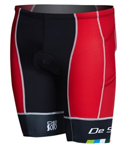 DeSoto Men's Forza 4 Pocket Tri Short