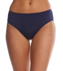 Nautica Signature High Waist Bikini Bottom