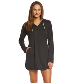 Speedo Women's Cover Up Hoodie Dress