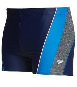 Speedo Men's PowerFLEX Eco Ignite Splice Square Leg Swimsuit