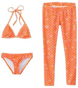 Mahina Mermaid Girls' Merswim 3pc Binini Set (6-14)