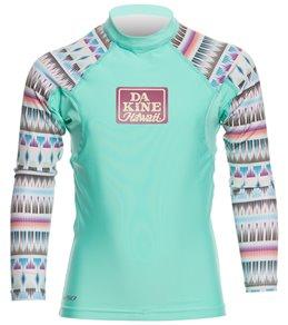 Dakine Girl's Classic Snug Fit L/S Rashguard