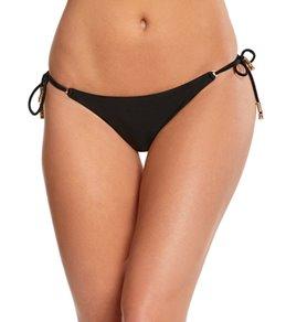 Vix Swimwear Black Long Tie Full Bikini Bottom