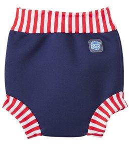 Splash About Happy Nappy Red Stripe Swim Diaper