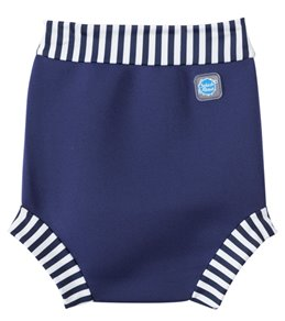 Splash About Happy Nappy Navy Stripe Swim Diaper