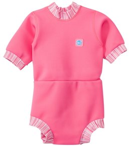 Splash About Happy Nappy Pink Candy Stripe Wetsuit (3mos-3T)
