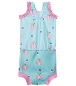Splash About Happy Nappy Apple Daisy One Piece Swimsuit w/Built-in Swim Diaper  (3mos-3T)