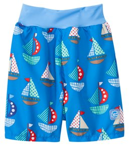 Splash About Happy Nappy Set Sail Board Shorts w/Built-in Swim Diaper (3mos-3T)