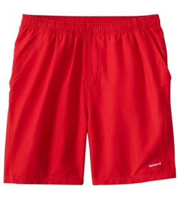 Sporti Men's Solid Swim Trunk