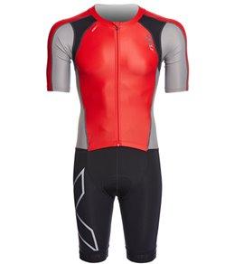 2XU Men's Compression Full Zip Sleeved Trisuit