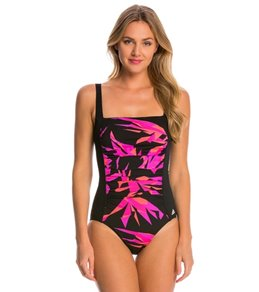 Adidas Women's Princess Seam One Piece Swimsuit