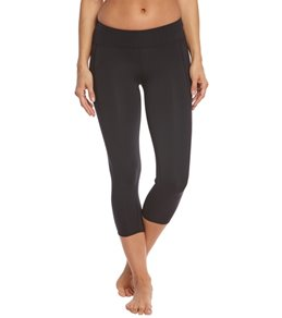 TYR Women's Solid Kalani Capri Swim Tight